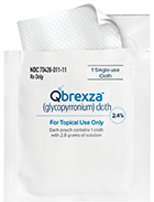 QBREXZA cloth towelette
